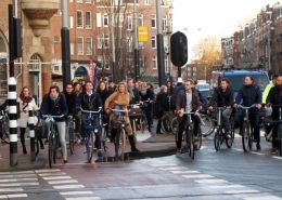 fietsdrukte amsterdam